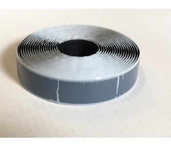 Zelfklevend haakband S-lijm 25 mm x 5 m zwart