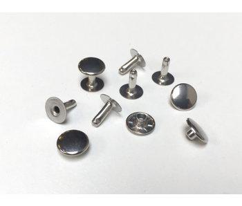 Rivets métalliques de nickel libre