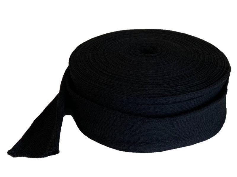 Jersey, tubular, synthétique, noir