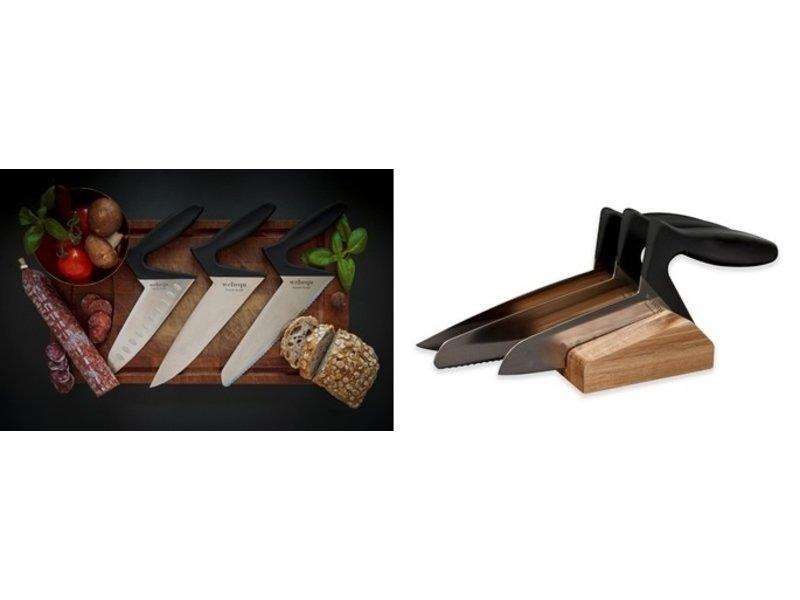 Ergonomic kitchen knife Soft Touch