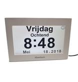 Digitale sprekende klok NL/FR - Alzheimer klok