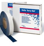 Delta Terry-Net adhesive edge fleece blue
