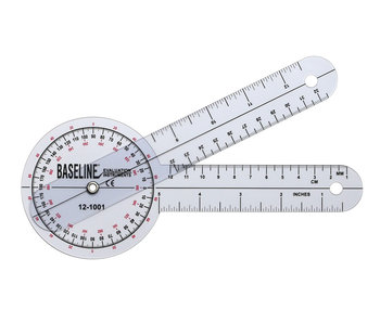 Goniometer 20 cm kunststof 360 graden ISOM