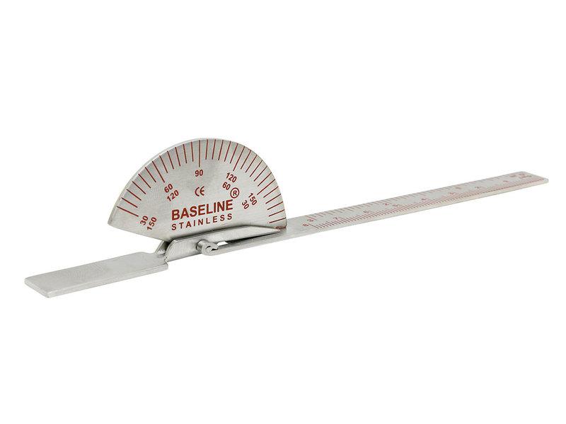 Goniometer 15 cm roestvrij staal
