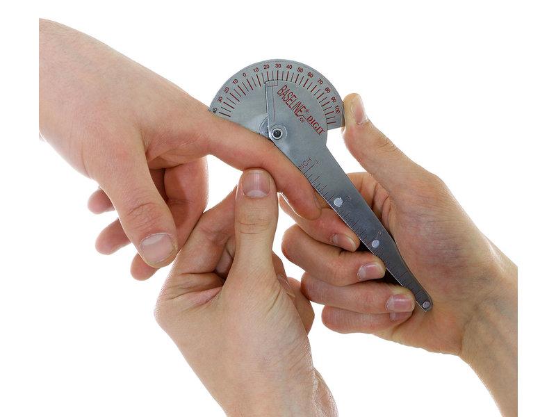 Goniometer 10 cm aus Edelstahl 180 Grad