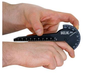 Goniometer 10 centimeter plastic 180 degrees