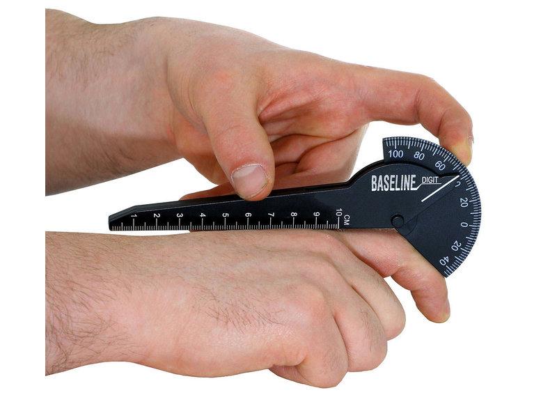 Goniometer 10 centimeter kunststof 180 graden