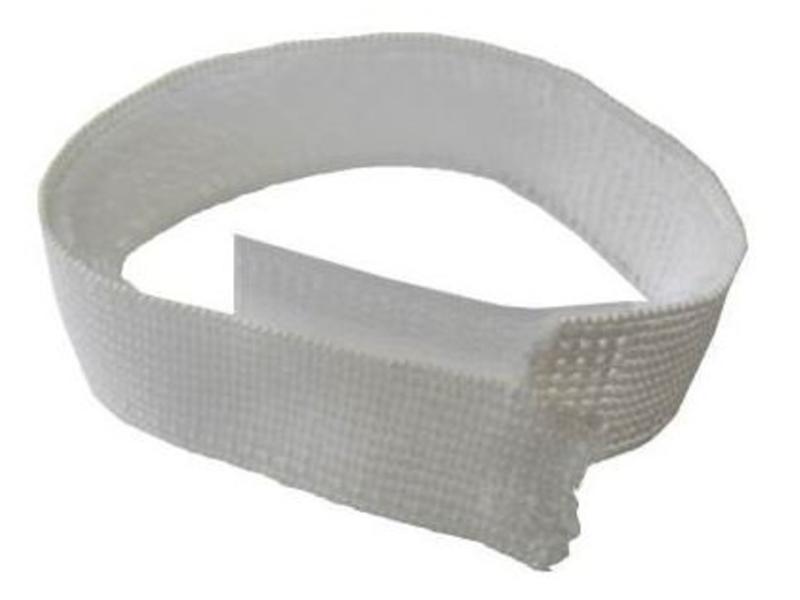 Elastische teenband wit