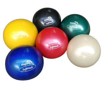 Set of six weighted balls (all colors)