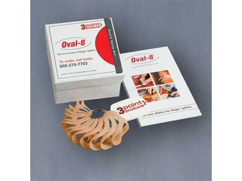 3 Point Products Oval-8 sizes set