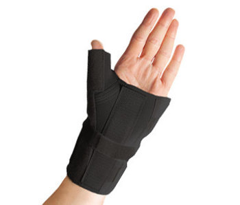 Thermoskin Handgelenk- und Daumenstütze schwarz