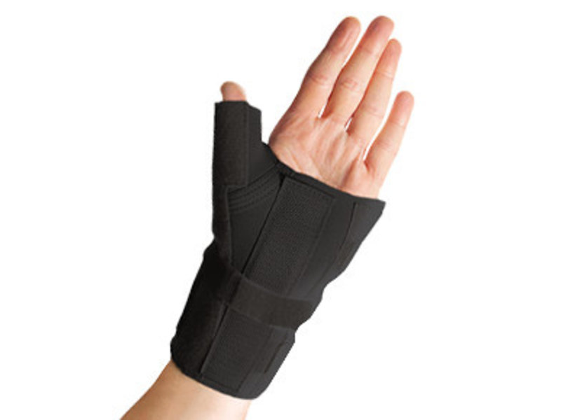 Thermoskin Wrist and thumb brace black