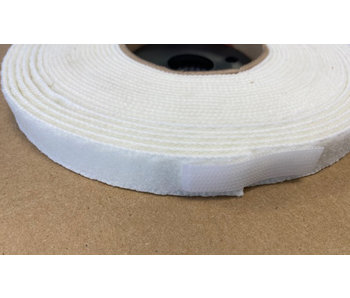 VELCRO® brand Elastic loop white 16mm
