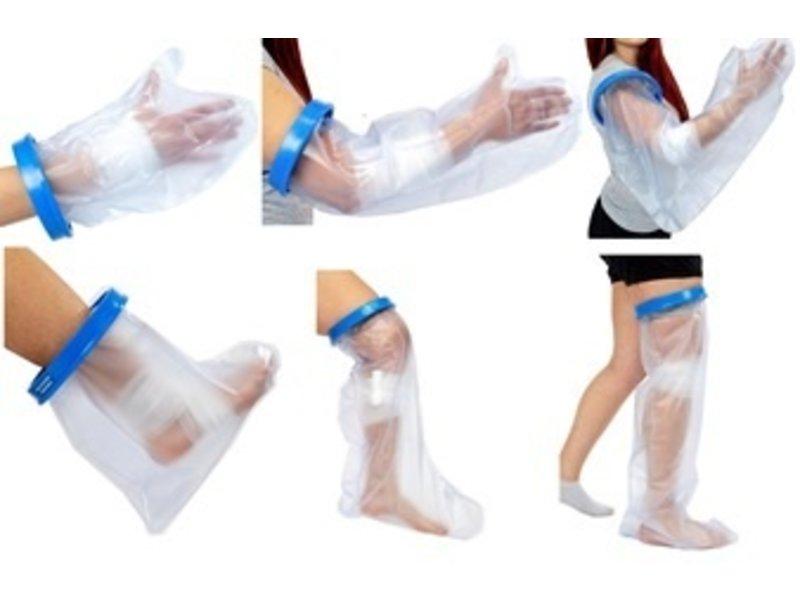 Waterproof gipshoes voor het douchen Sealcuff