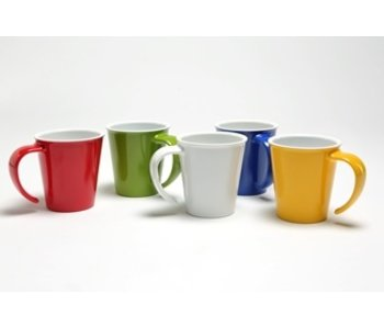 Cup with one large open handle melamine 101