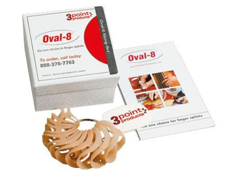 3 Point Products Ovale-8 tailles définies