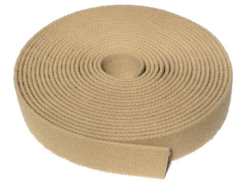 VELCRO® brand Elastisch Lusband beige