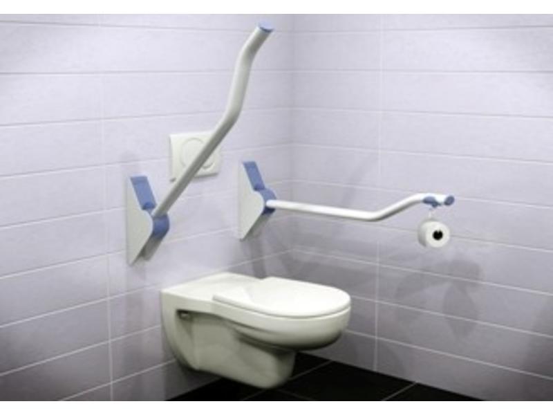 Opklapbare toiletbeugel Ropox