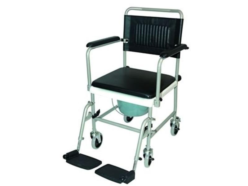 rollstuhl wc auf r dern mit fu st tzen antrieb stockx medical. Black Bedroom Furniture Sets. Home Design Ideas