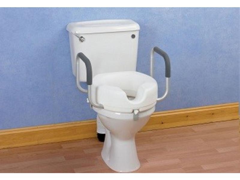 Toilettes coussin avec poignées