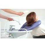 Aufblasbare Haarwaschbecken für die Verwendung an der Spüle Adhome