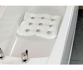 Coussin gonflable de bain avec des ventouses