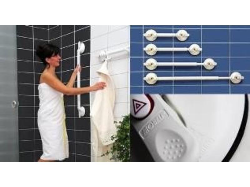 Wandbeugel op zuignap verstelbaar met veiligheidsindicator