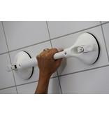 Wandbeugel op zuignap met vaste lengte en veiligheidsindicator