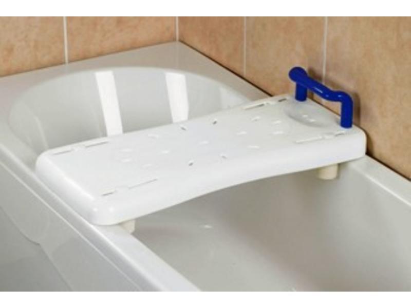 Planche de bain avec poignée bleue