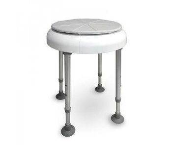 Shower chair with rotating seat round Delphi