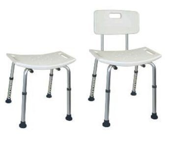 Shower chair with molded seat Duro