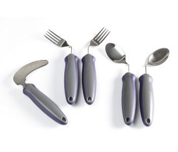 Bent cutlery Newstead