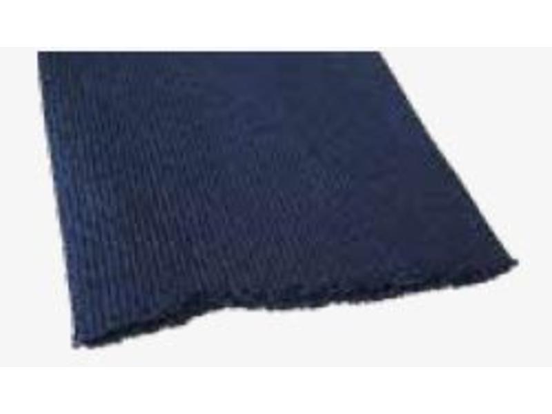 Couverture plâtre bleu