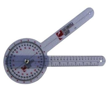Goniometer 30 cm kunststof 360 graden ISOM