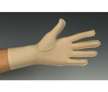Oedeem handschoen tot over de pols