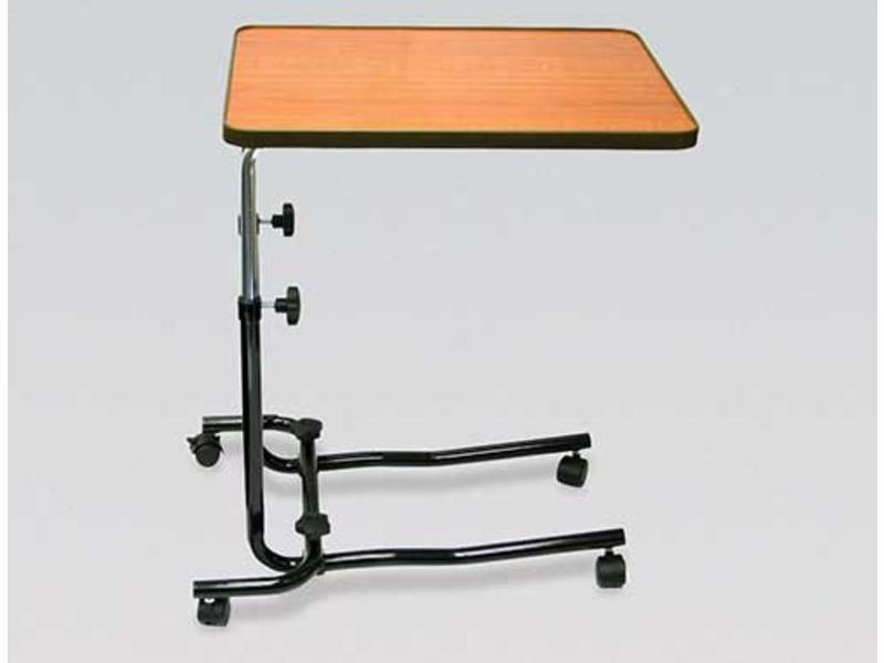 Table de lit sur roulettes