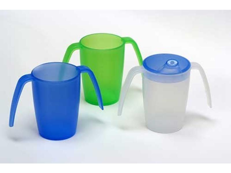 Beker met 2 handvatten