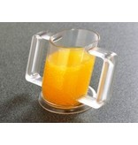 HandyCup abgewinkelten Tasse mit zwei Tüllen