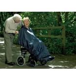 Poncho en fauteuil roulant