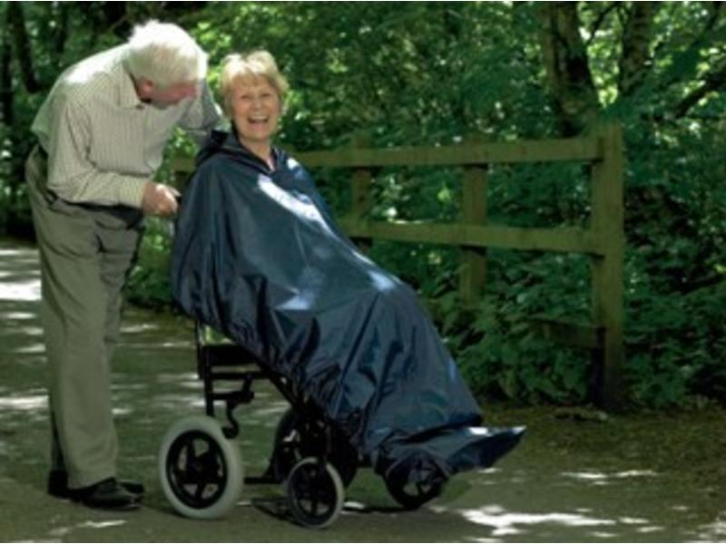 Rollstuhl-Poncho