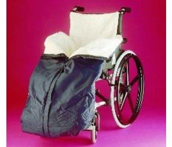 Protection jambes- et inférieure pour les fauteuils roulants polaire