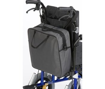 Shopping bag for behind the wheelchair