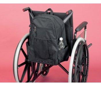 Opbergtas voor achteraan de rolstoel Deluxe