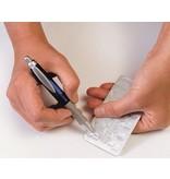 Fusselremover in der Form eines Stiftes