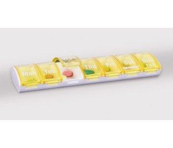 Pilulier Anabox pendant une semaine, un compartiment par jour
