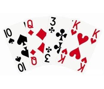 Spielkarten mit Großdruck