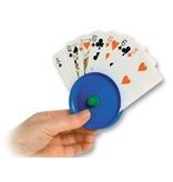 Speelkaartenhouder rond kunststof voor in de hand