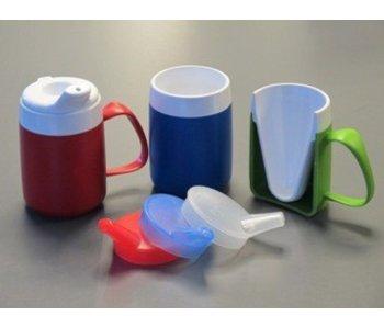Isolant forme d'entonnoir de tasse