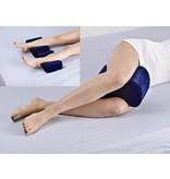 Visco-elastisch afstandskussentje voor tussen de benen