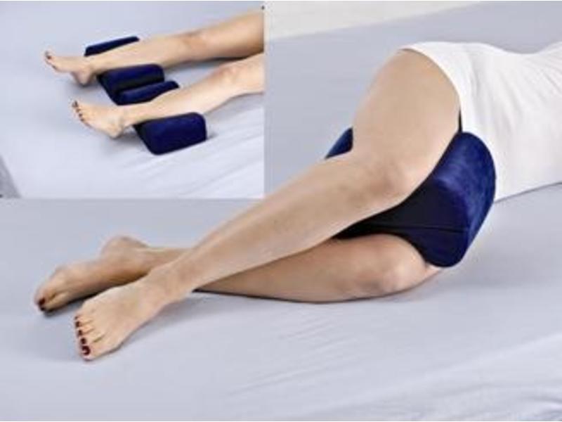 Viskoelastischen Polster für Abstand zwischen den Schenkeln